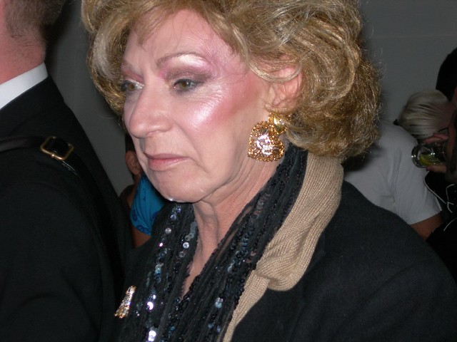 Warhol Superstar Holly Woodlawn in London
