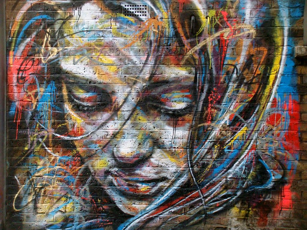 David Walker, live painting…