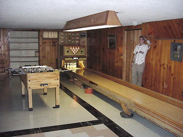 bowling alley in the basement flickr photo sharing