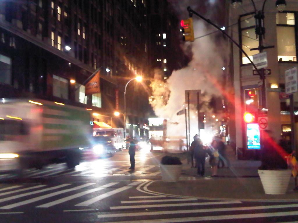 Midtown at night, NYC