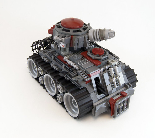 Blood Skull V6 Battle-Tank