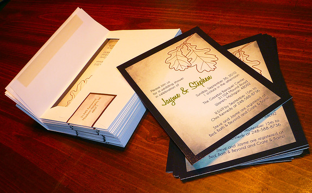 Bridal Shower Invitation + Envelope