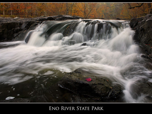 longexposure autumn red fall water waterfall nc triangle durham fallcolors northcarolina foliage explore eno cascade piedmont enoriverstatepark wondersofnature explored photocontestfall10