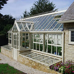 Bespoke Victorian three quarter span lean-to Glasshouse
