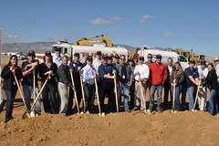TSC groundbreaking. Photo by Mike Mills