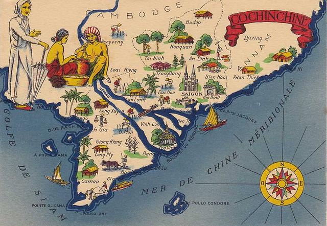 COCHINCHINE - Xứ Nam Kỳ thuộc địa Pháp