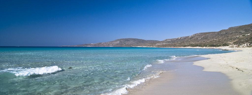 Элафониси крит пляж