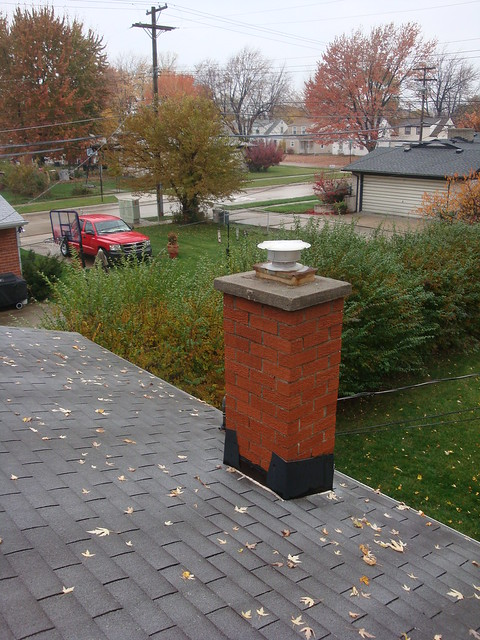 Bloomfield Construction - Chimney Saddle 1