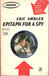 Epitaph for a Spy - Hodder book cover