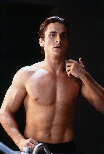 Think, Christian bale shirtless