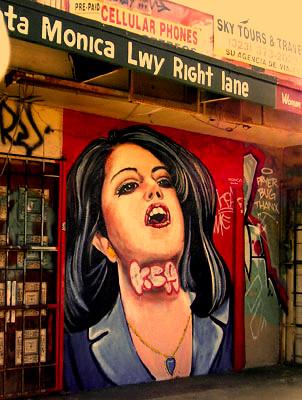Lewinsky mural