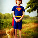 superman and his trusty sidekick by ~LeahP~