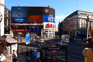 Trafalgar Square - Advertising
