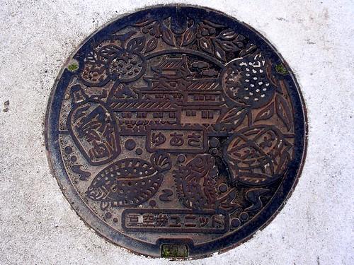 Yuasa Wakayama,manhole cover(和歌山県湯浅町のマンホール)