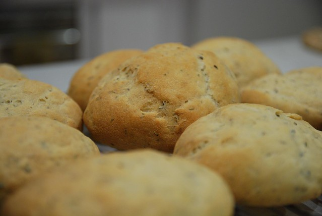 Julia's Potato and Rosemary Rolls close-up | Flickr - Photo Sharing!