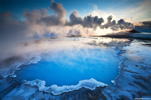 The Blue Pool / Bláhver - Hveravellir, Central Highlands Iceland