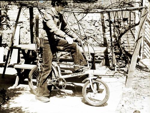 Raleigh Chopper Tony Bell Bottoms 1975 70s