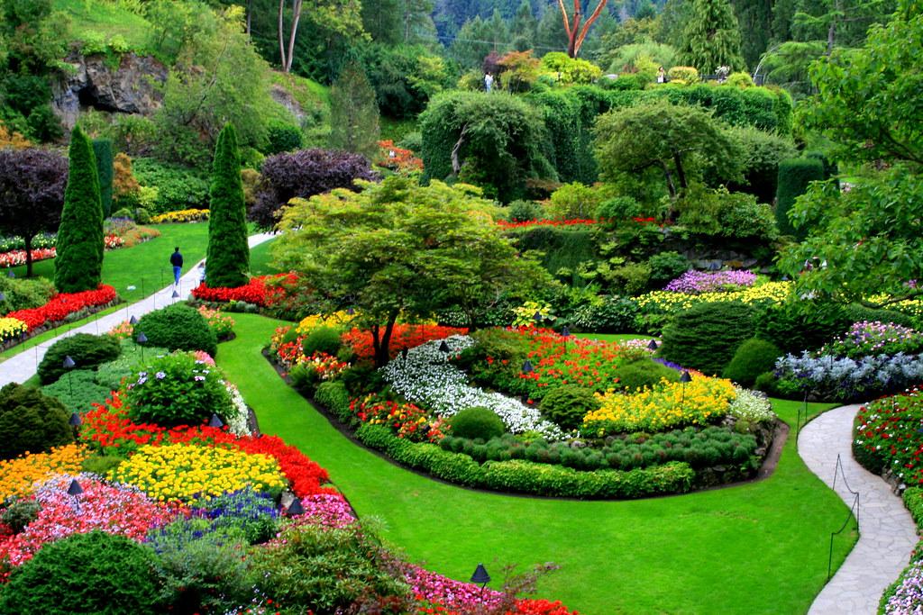 A Better Capture Of The Sunken Garden At
