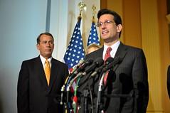 Rep. John Boehner,  Rep. Eric Cantor
