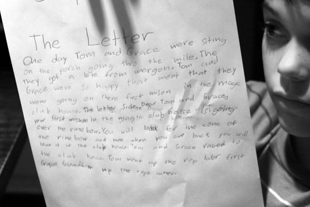 Header of The Letter