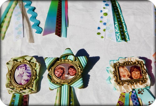 Ribbon Award Corsage Pins