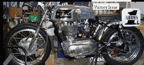 Royal Enfield Race Motorcycle - For Bonneville Salt Flats racing