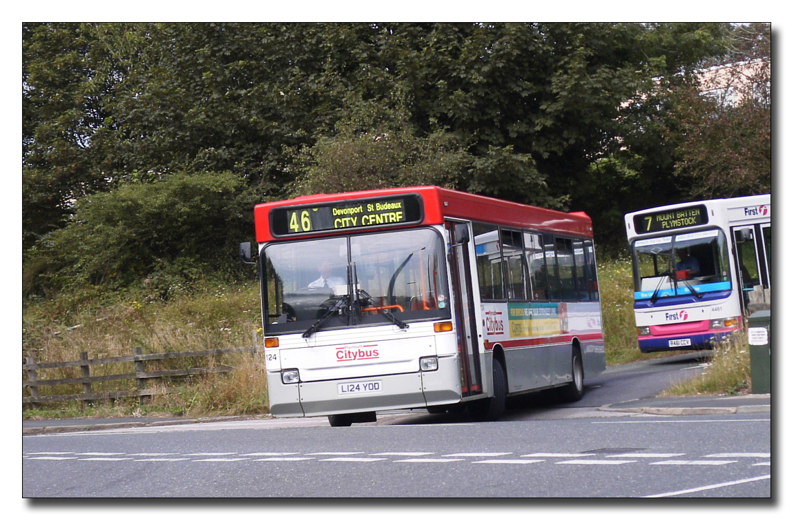 Plymouth Citybus 1204L124YOD