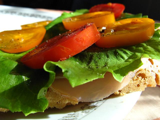 Słoneczna kanapka
