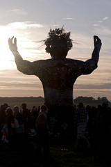 Stonehenge Summer Solstice 2010 - The Ancestor Welcomes the Sun