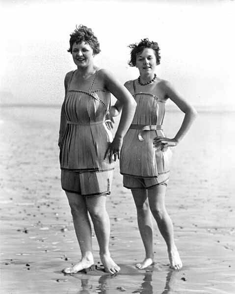 Two Quot Spruce Girls Quot Standing On The Beach Wearing Spruce