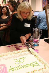 Cake Cutting for the 30th Anniversary party