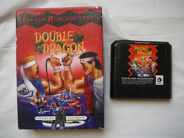 Genesis Double Dragon 2: Double Dragon Dojo: Double Dragon II
