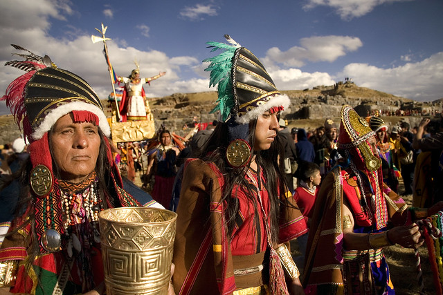 Inti Raymi at Sacsayhuaman