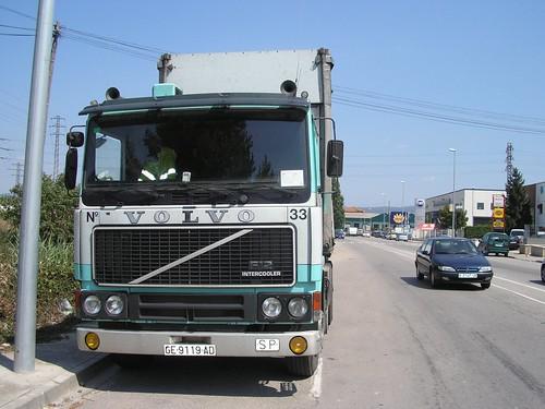 Volvo al polígon industrial de Vic (Osona-Barcelona)