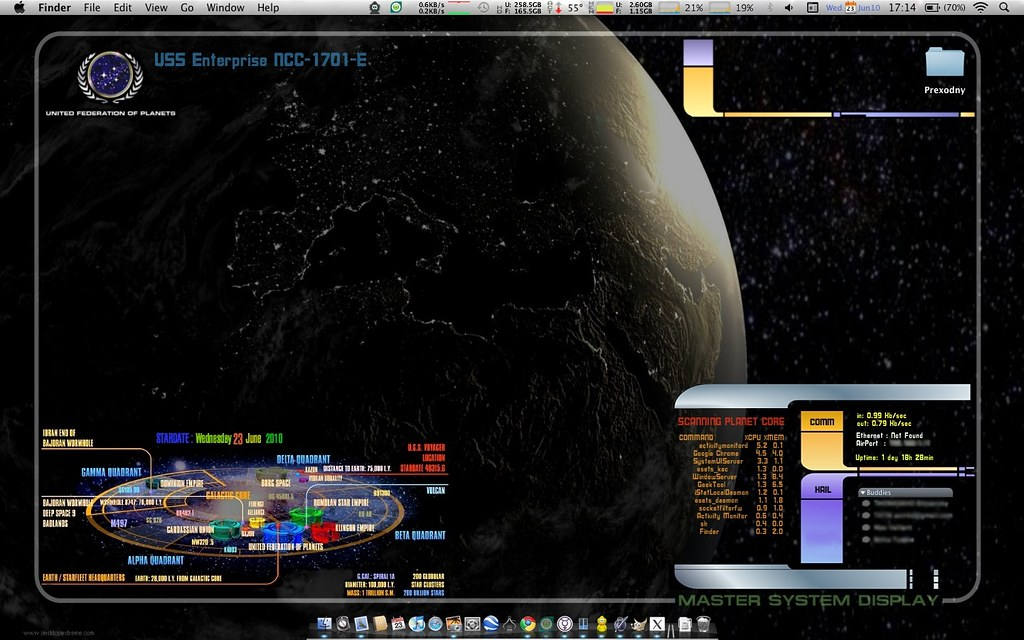 My StarTrek Desktop | BrankoMM | Flickr
