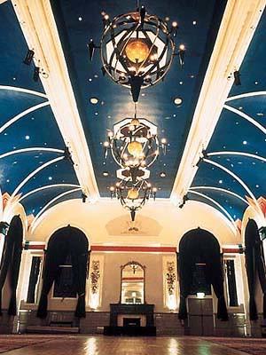 inside buxton palace