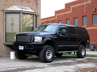 Lifted Ford Excursion