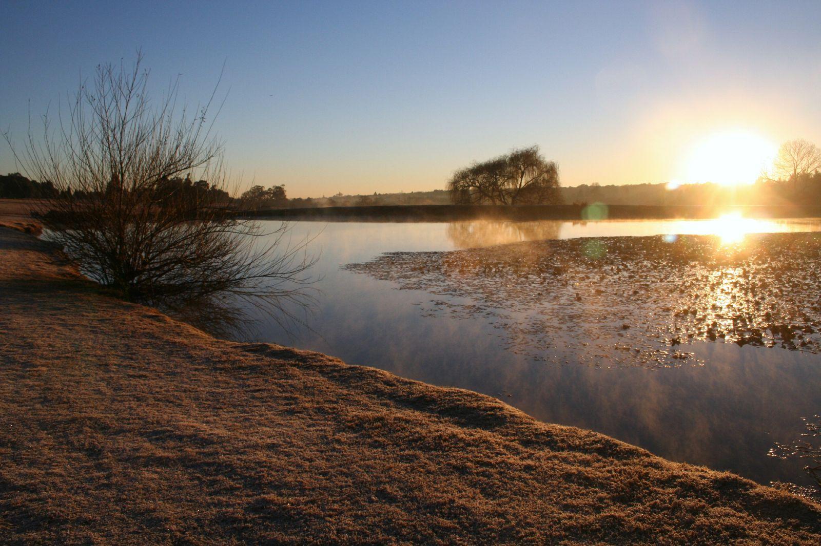 Frosty Dawn at Emmarentia Dam