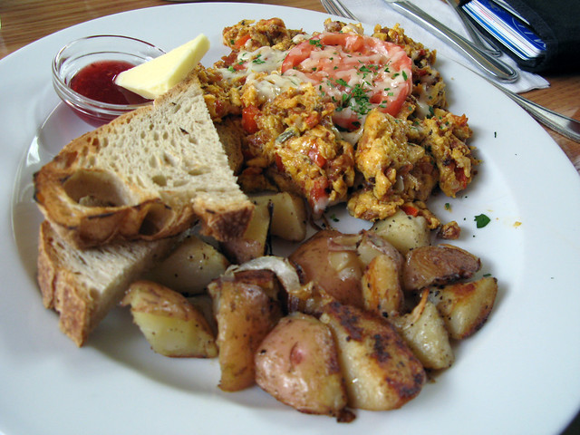 Chorizo scrambled eggs | Explore Ruth and Dave's photos on F ...