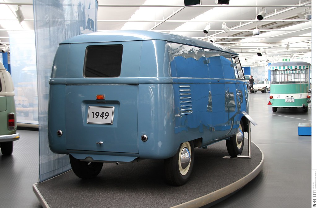 1949 Volkswagen Kastenwagen T1 Prototyp (05)