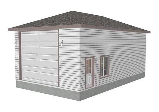 Download Rv Garage Plans G272 22 X 38 X 14 Hip Roof Rv