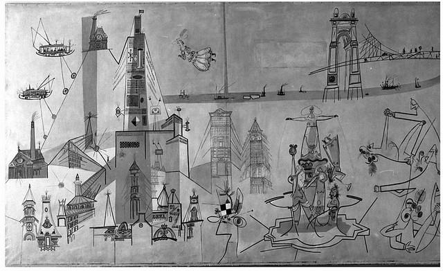 Cincinnati mural by saul steinberg flickr photo sharing for Cincinnatus mural