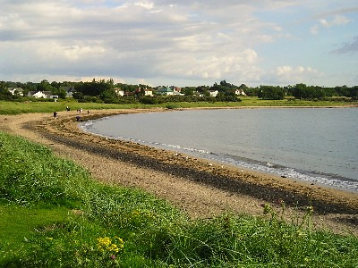 Beach at Longniddry Bents