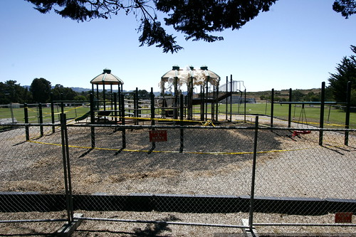 torched / scorched playground at fox school    MG 9957