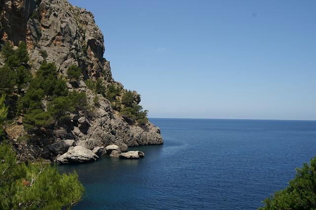 Mallorca landscape. Остров Майорка