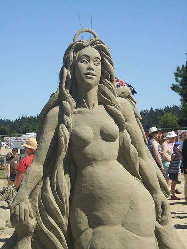 Parksville Sand Sculpting Contest
