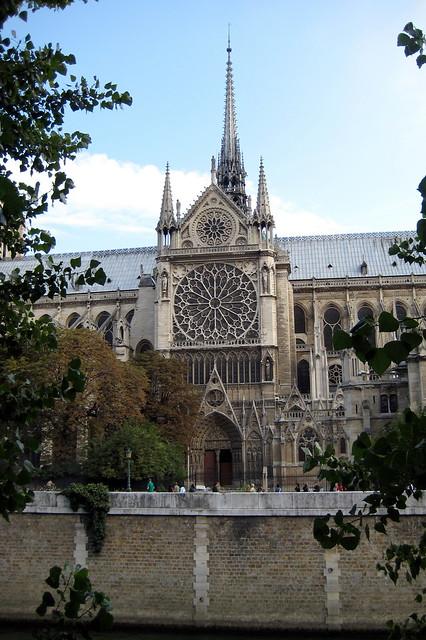 Paris - Île de la Cité: Cathédrale Notre-Dame de Paris