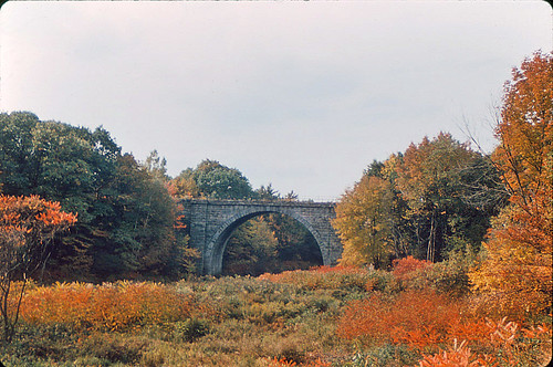 Railroad Viaduct in Keene New Hampshire