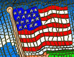 Flag Day Mosaic | by traqair57