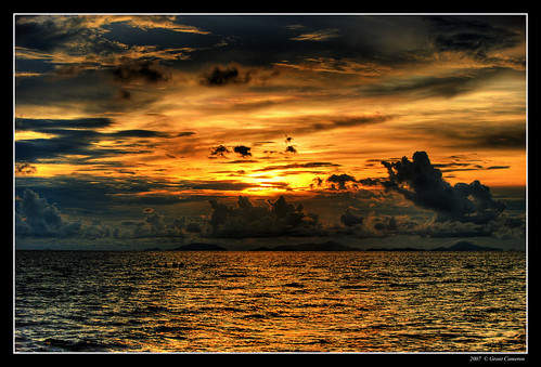 sunset sea clouds dark thailand chantaburi 50faves outstandingshots aplusphoto diamondclassphotographer flickrdiamond theunforgettablepictures excapture diamondexcapture